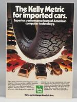 Vintage Magazine Ad Print Design Advertising Kelly Tires