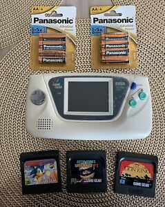 SEGA Game Gear Avec Nouveau LCD