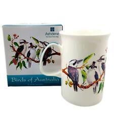 Mug Cup Kookaburra Birds Australia Fine Bone China Can Coffee Tea Australian