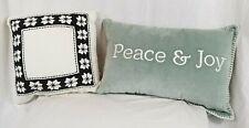 Throw Pillow White Nordic Star Hearth & Hand W/ Magnolia & Threshold Toss Pillow