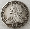 New Hobo Nickel Skull Great Britain Crown Queen Victoria Veiled Head Casted Coin