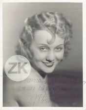 FLORELLE Actrice Chanteuse Cinéma Portrait AUTOGRAPHE Photo 1930s