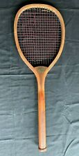 Antique Tennis Racket Spalding Transitional Flat Top