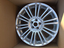 "Genuine Range Rover Evoque  19"" Style 5 V Spoke Alloy Wheel Sparkle Silver NEW"