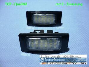 LED Set Number Plate Light Seat Alhambra II