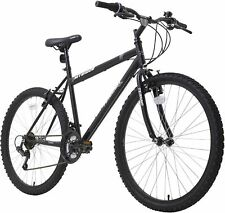 "NEW Terrain Men's 26"" Wheel 19"" Frame Rigid Mountain Bike 18-Speed (Black)"