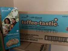 CASE of 2021 GIRL SCOUT TOFFEE TASTICS - 12 BOXES **Free Shipping ** GLUTEN FREE