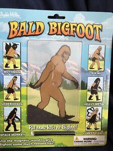Bald Bigfoot Big Foot Fun Game For Distance Learning Art Class