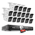 ANNKE 4K H.265+ NVR 8MP POE Home Security Camera System IP Audio Recording H800