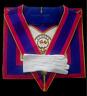 masonic regalia-MARK-MARK  PROVINCIAL UNDRESS APRON AND COLLAR PACKAGE LAMBSKIN