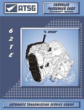 62TE ATSG Rebuild Manual Ultradrive Transmission Book Transaxle Service Overhaul
