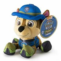 Paw Patrol Plush Toy - Chase Jungle Rescue - New Authentic Item - Pup Pals BNWT