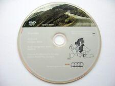 Audi A3 A4 A6 TT R8 RNS-E navigation DVD 2011/2012 UK Italy France Germany Spain