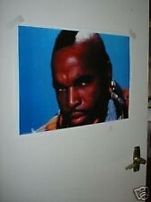 The A Team BA Baracus Mr T Poster NEW Face