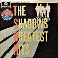 THE SHADOWS Greatest Hits UK Press Columbia LP