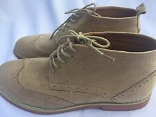 Alberto Fellini DT3A Ankle Oxfords Boots Wingtip Classic Brogue Chukka Suede 8.5