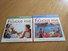 TELEGRAPH ENID BLYTON FAMOUS FIVE TREASURE ISLAND/GO ADVENTURING AGAIN NEW CDS
