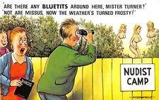 POSTCARD  COMIC   BAMFORTH      Peeping   Tom