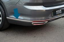Chrome Rear Bumper Accent Trim Covers To Fit Volkswagen Passat B8 (2016+)