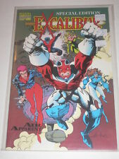 Excalibur Special Edition Air Apparent VFNM Marvel Comics Dec 1991 Lobdell Story
