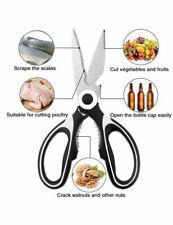 Sale !Kitchen Scissors Shears Ultra Sharp Multi Purpose Stainless Heavy Duty new