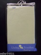 *NEW* Living Textiles - Baboo Collection Fitted Sheet - Grn/Wht  27x52x8