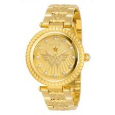 Invicta 33171 DC Comics Women's Wonder Woman Gold-Tone Stainless Steel Watch