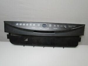 Frigidaire Dishwasher Control Panel, Black  154486003 154486103 154474801 ASMN