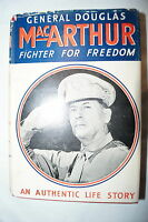 WW2 US General Douglas MacArthur Fighter For Freedom Reference Book