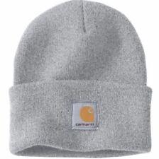 Carhartt - Acrylic Watch Hat (Heather Grey) Beanie NEW 100% Authentic
