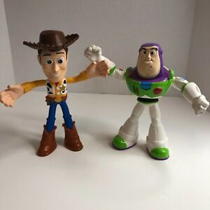 "Disney Toy Story 4 Flextreme Bendable Figures 8"" - Woody & Buzz Lightyear"