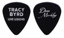 Vintage Tracy Byrd Love Lessons Black Guitar Pick - 1995 Tour