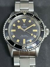 1970 Tudor Submariner Black Snowflake No Date Ref.7016/0 Orange Patina Divers