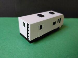 2-pk HO 1:87 Winnebago Voyage travel trailers RV w flicking LED