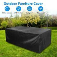 Waterproof Patio Garden Furniture Cover Outdoor Table Protector U8R7