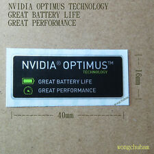 NVIDIA OPTIMUS Sticker 16mm x 40mm