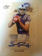 2013 Leaf Draft Sean Renfree Atlanta Falcons Duke - Auto White