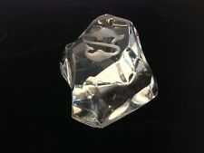 Val St. Lambert France Crystal Sculpture or Paperweight Horoscope Pieces Fish