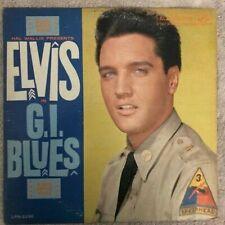 Elvis Presley - G.I. Blues LP (1960) RCA Victor - LPM-2256. VG/VG