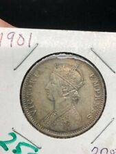 1901 - India - 1 Rupee