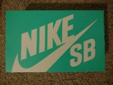 Nike SB EMPTY TEAL AQUA BOX Original for Sneakers Athletic Shoes Boots Authentic