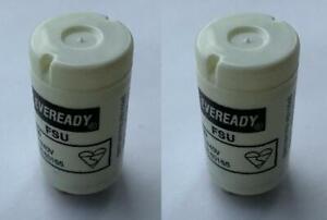 Pack x2 EVEREADY Fluorescent Starter 4-65W FSU 220-240V Flu Tube Start FS-U