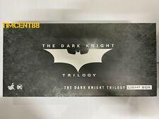 Ready! Hot Toys The Dark Knight Trilogy Light Box