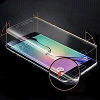2x Displayschutzfolie für Samsung Galaxy S6 Edge Display Schutz TPU Folie