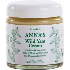Anna's Wild Yam Cream (For Menstrual and Menopausal Symptoms) 100g | Annas