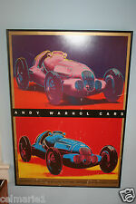Andy Warhol CARS-Mercedes Benz W125 Grand Prix Car 1937 Pop Art Poster 24x34