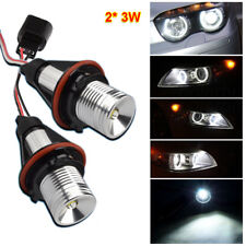 6W LED Éclairage Angel Eyes Pour BMW E46 E36 X3 X5 E30 E53 E65 Kit Xénon 6000K