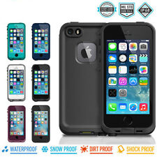 iPhone SE 5S 5 Case | Waterproof Shockproof Dustproof Cover w/ Screen Protector