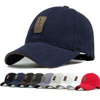 Outdoor Sport Cotton Baseball Cap Golf Visor Snapback Hip-hop Hat Adjustable Hot