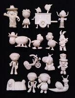 16 Rare Complete Set ✱ MÁGIC ROUNDABOUT ✱ Dunkin Figures Premium kaugummifiguren